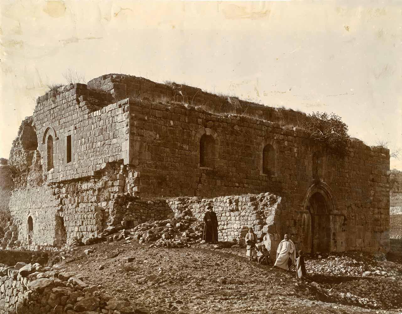 monastere-abu-gosh-avant-1900